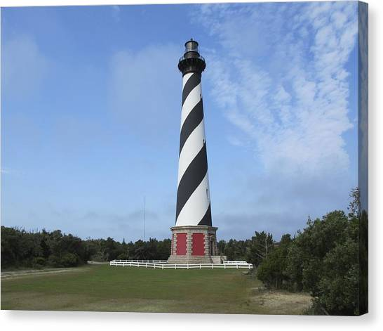 Cape Hatteras Light House Canvas Print