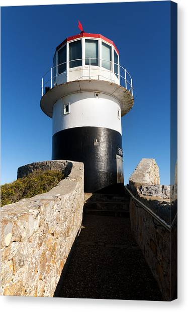 Table Mountain Canvas Print - Cape Point Lighthouse by Fabrizio Troiani