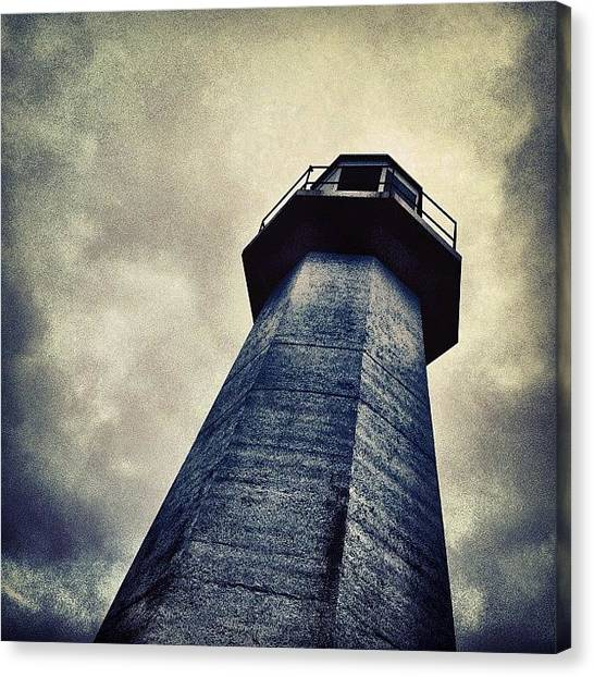 Lighthouses Canvas Print - Cape Spear, Newfoundland Lighthouse by Christopher Campbell