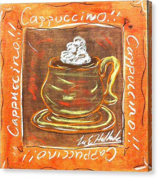 Cappaccino Canvas Print by Lee Halbrook