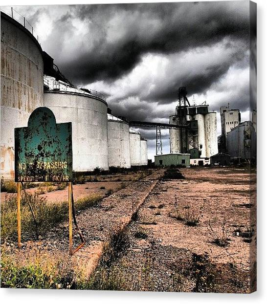 Ontario Canvas Print - Captains Of Industry 2. #decay by Michael Squier