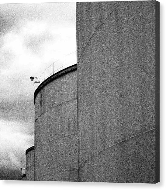 Ontario Canvas Print - Captains Of Industry 3. #blackandwhite by Michael Squier