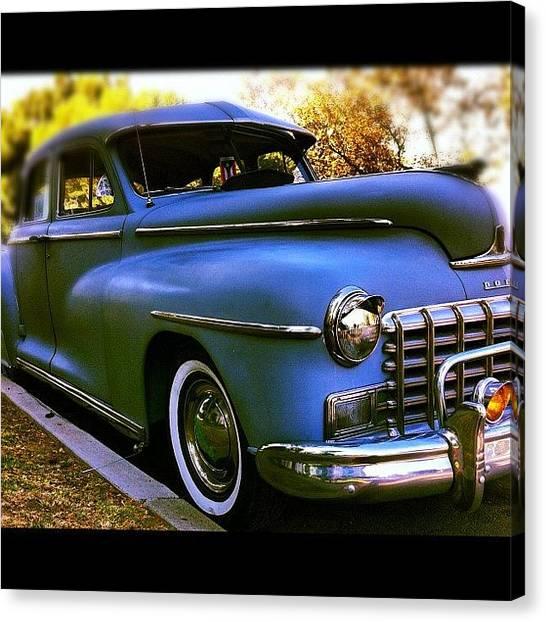 Dodge Canvas Print - #car #cars #all_shots #all_iphone by Daniel Corson
