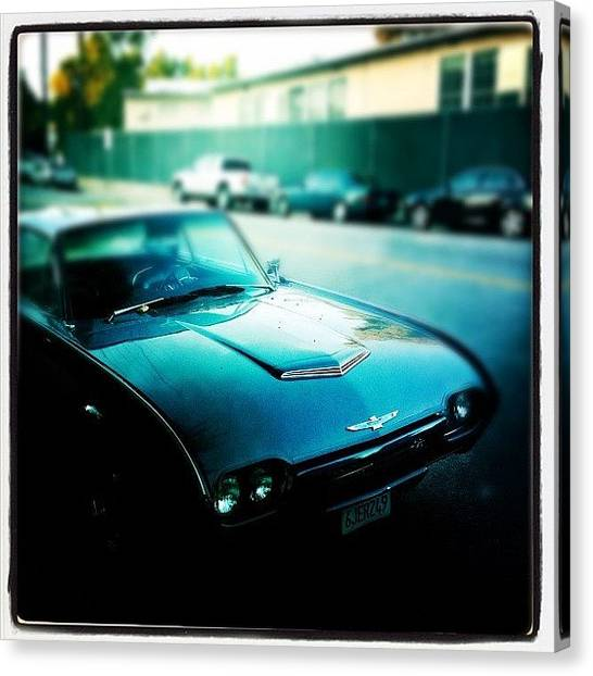 Hollywood Canvas Print - Car by Torgeir Ensrud