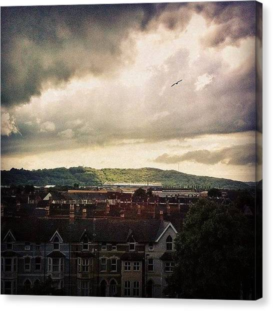 London2012 Canvas Print - Cardiff City by Samuel Gunnell