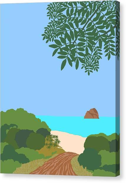 Caribe 1 Canvas Print