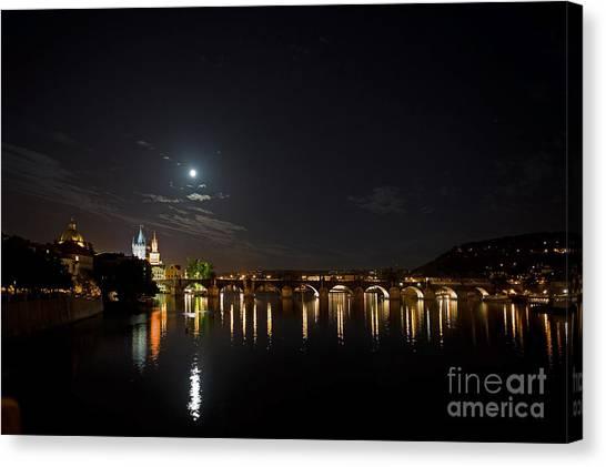 Carls Bridge Prague Canvas Print