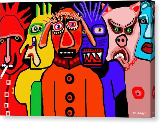 Carnavale 5a Canvas Print