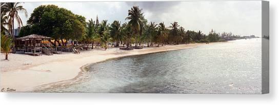Carribean Shore Canvas Print