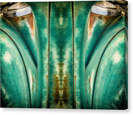 Carschach001 Canvas Print by Tony Grider