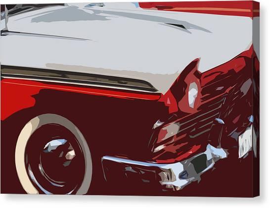 carToon Canvas Print by Elizabeth Alamillo