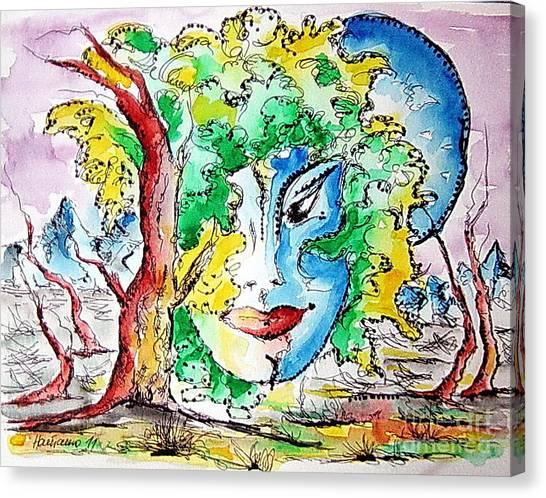 Casiopea Canvas Print by Natasa Dobrosavljev