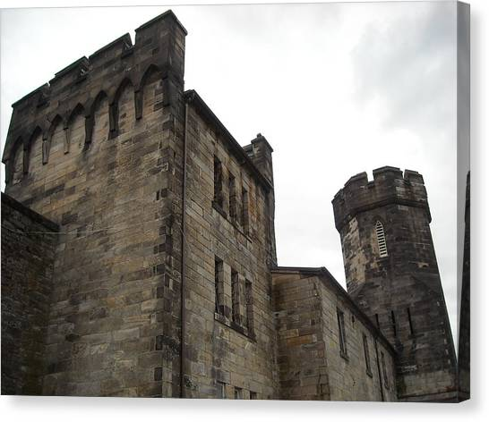 Castle Penitentiary Canvas Print