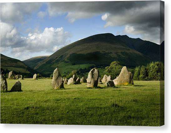 Canvas Print - Castlerigg by Peter Jenkins
