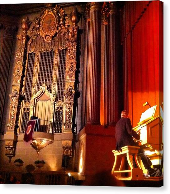 Castro Theater Canvas Print by Ken SF