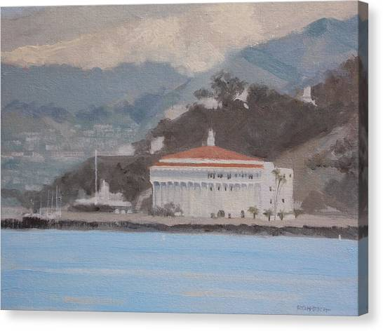 Catalina  Morning Canvas Print by Robert Rohrich