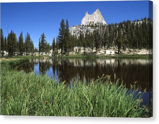 Cathedral Peak Canvas Print