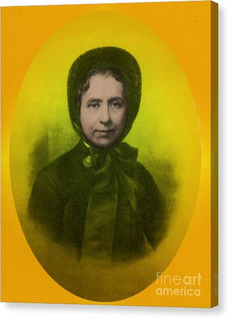 Salvation Army Canvas Print - Catherine Booth, Co-founder Salvation by Science Source