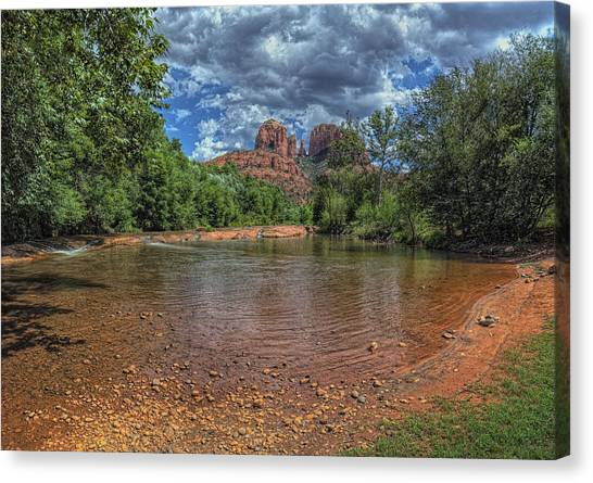 Cathedral Rock Canvas Print - Cathredral by Stephen Campbell