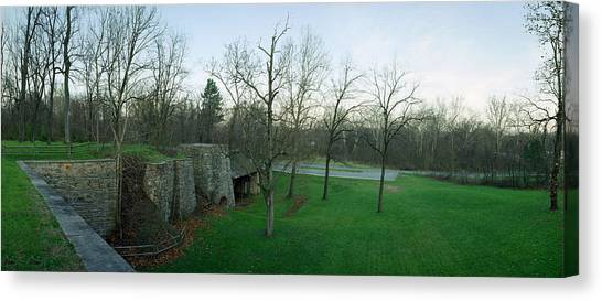 Catoctin Furnace Canvas Print by Jan W Faul