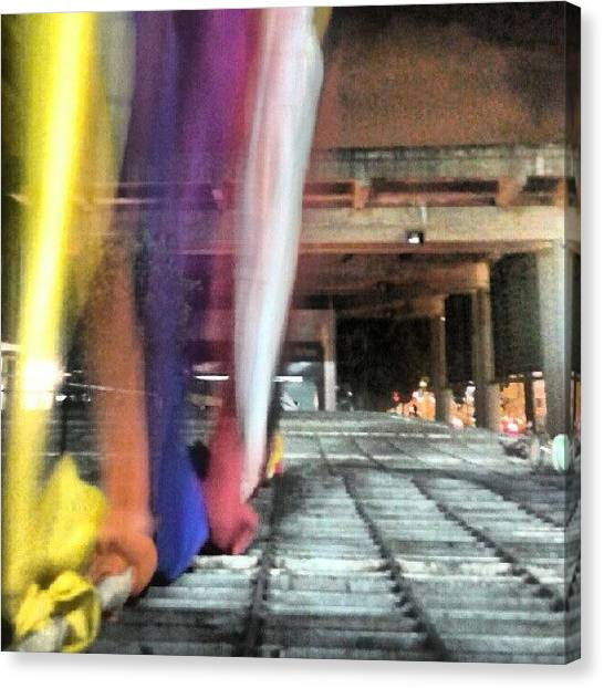 London Tube Canvas Print - #ccs #underground by Gustavo Nieto