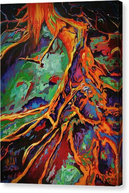 Cedar Roots Canvas Print