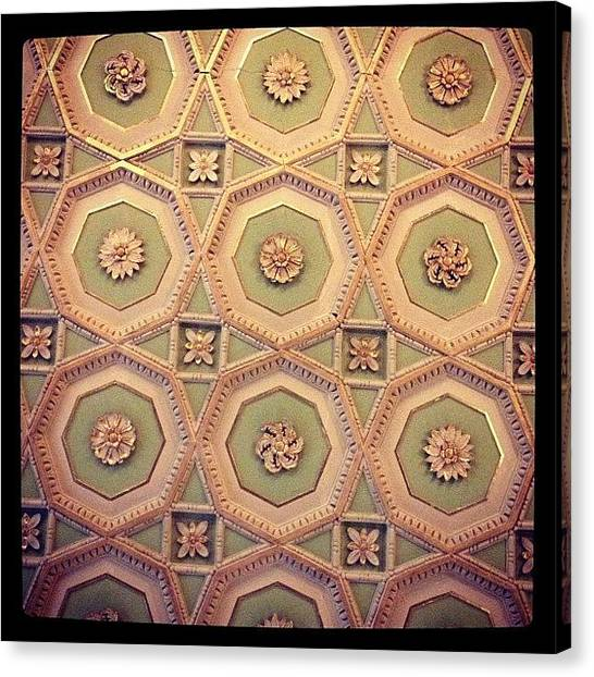 Decorative Canvas Print - Ceiling by Emma Hollands