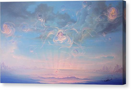 Celestial Connection Canvas Print by Hans Doller