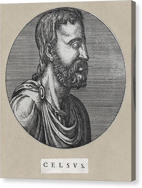 Atheism Canvas Print - Celsus, Roman Philosopher by Humanities & Social Sciences Librarynew York Public Library