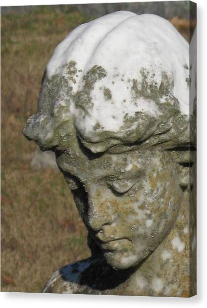Cemetery Series 1 Canvas Print