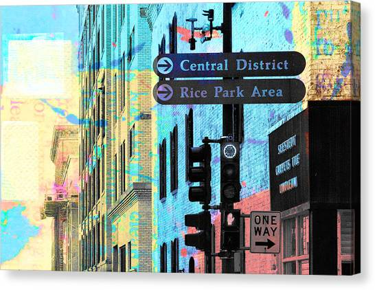 Central District Canvas Print