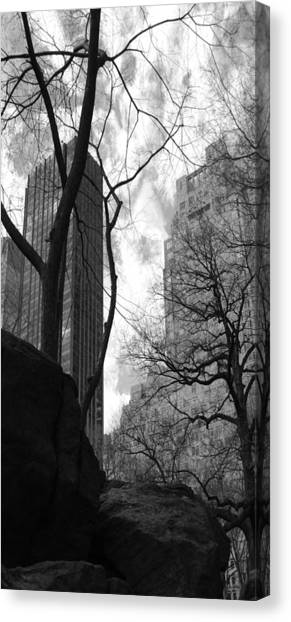 Central Park One Canvas Print