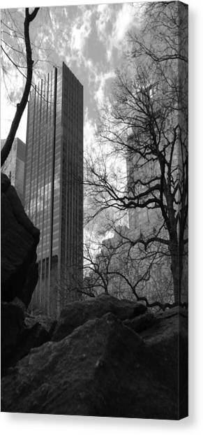 Central Park Three Canvas Print