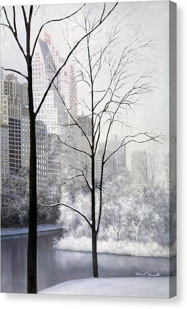 Central Park Vertical Canvas Print