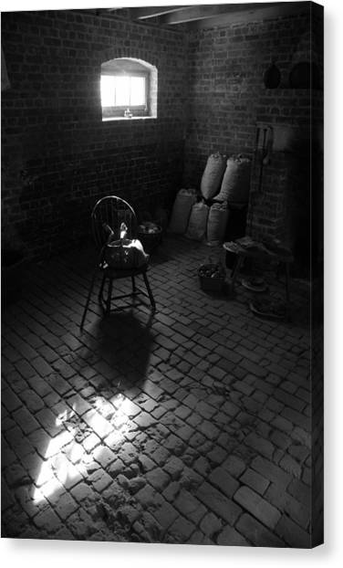 Chair-ished Canvas Print