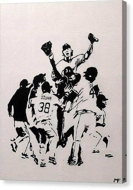 Champions Canvas Print by Matthew Formeller