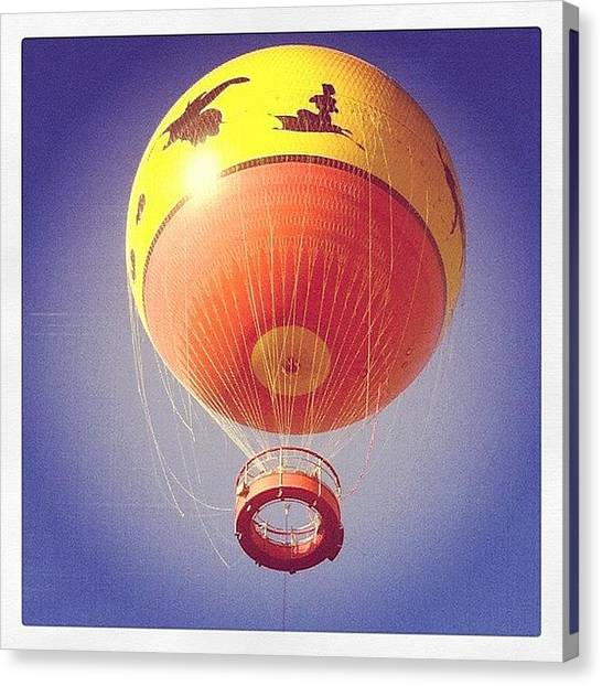 Balloons Canvas Print - Characters In Flight by Elyse Lagana
