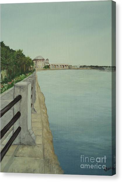 Charleston Battery Canvas Print by Osee Koger