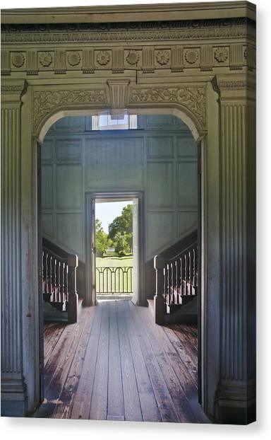 Charleston Drayton Hall 18th Century Canvas Print by Rob Tilley