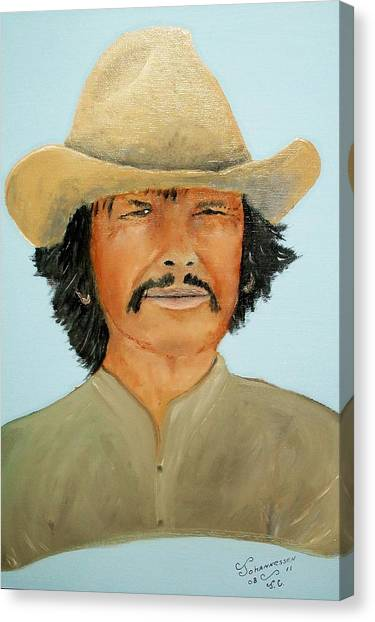 Charlie Boy Canvas Print
