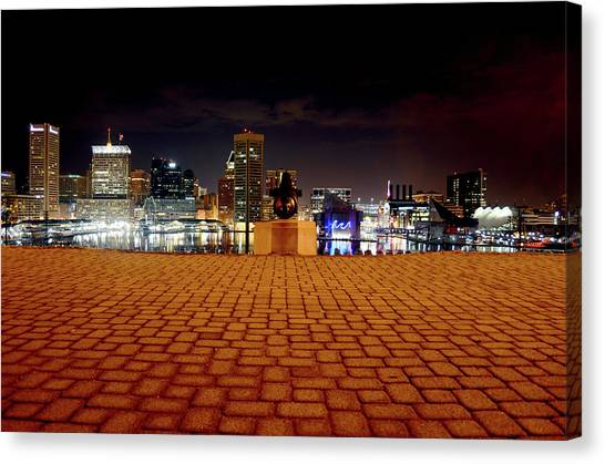 Charm City Skyline Canvas Print