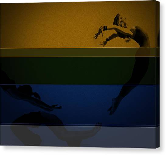Passionate Canvas Print - Chase by Naxart Studio