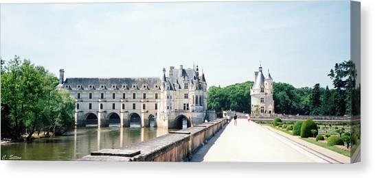 Chateau Chenonceau Canvas Print