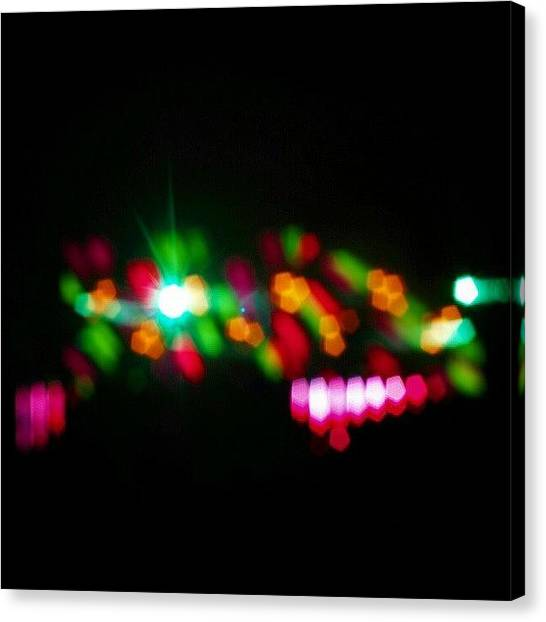 Concert Canvas Print - Chatou - Festival Inox by Tony Tecky