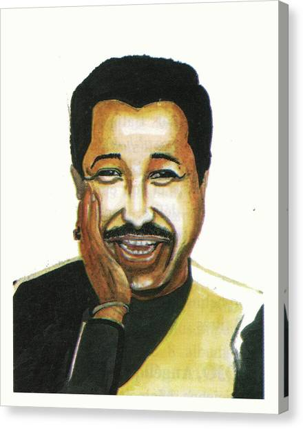 Cheb Khaled Canvas Print