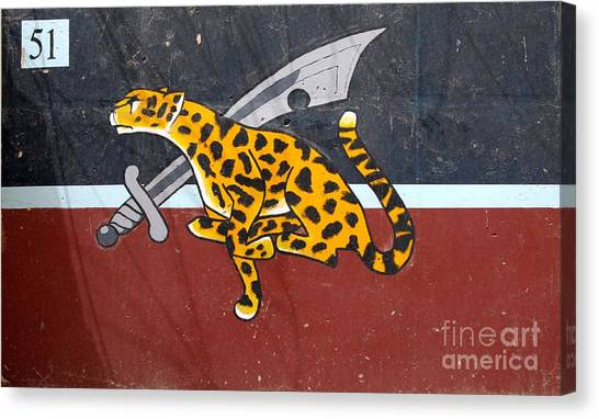 Cheetah 51 Canvas Print by Unknown