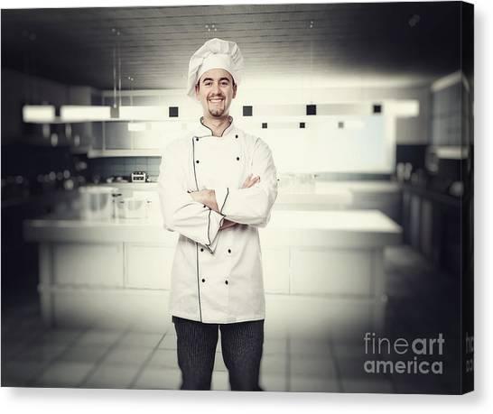 Chef Portrait Canvas Print