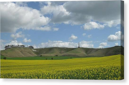 Cherhill White Horse Canvas Print