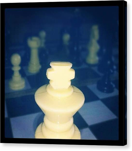 War Canvas Print - Chess by Parth Patel