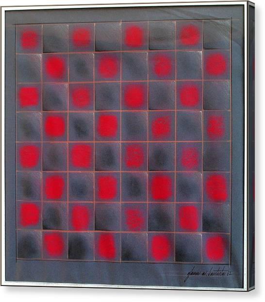 Chessboard 1982 Canvas Print by Glenn Bautista